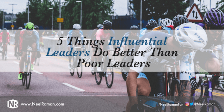 Things influential leaders have in common