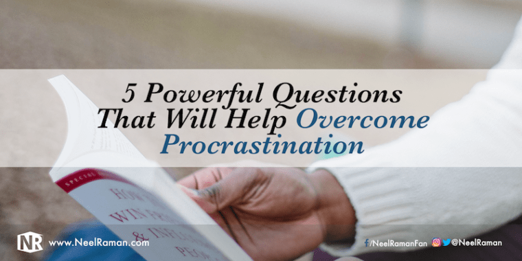 Procrastination questions answers