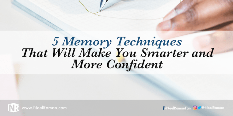 Memory techniques for studying