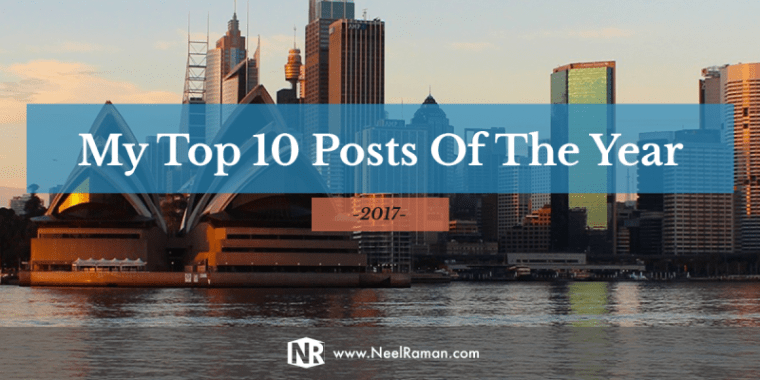 Top Posts for 2017 from Neel Raman