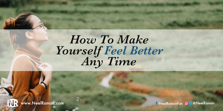 How to feel good about yourself