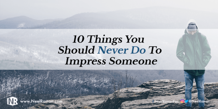 The costs of trying to impress others
