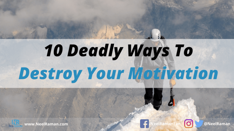 why we lose motivation