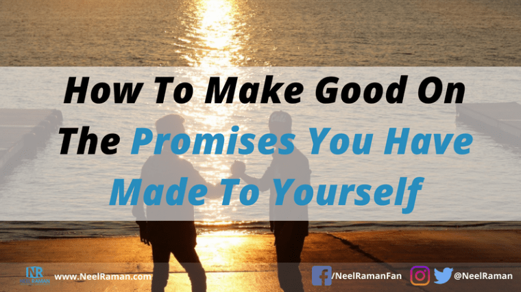 how to keep your commitments