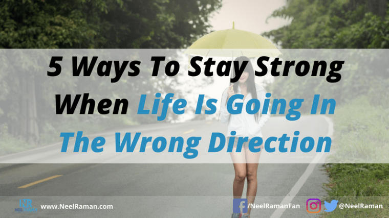 how to stay strong during tough times