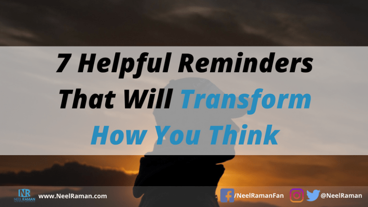 how to transform how we think
