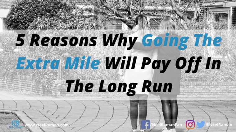how to go the extra mile