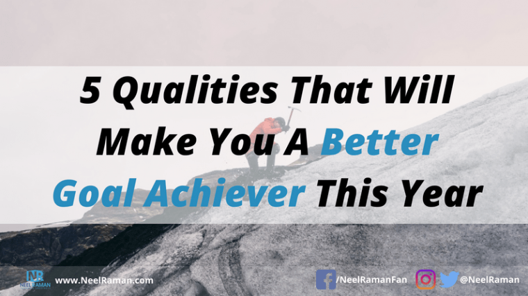 habits for better goal achievement
