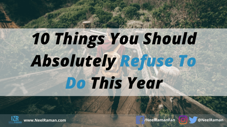 things successful people refuse to do