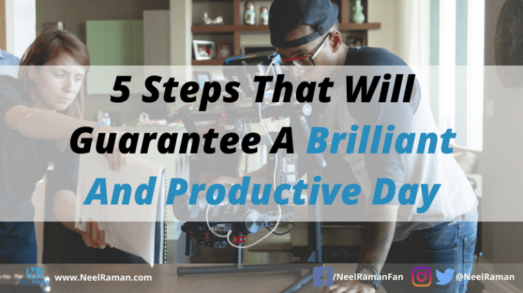 Ways to wake up productive