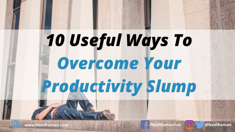 How to become more productive consistently
