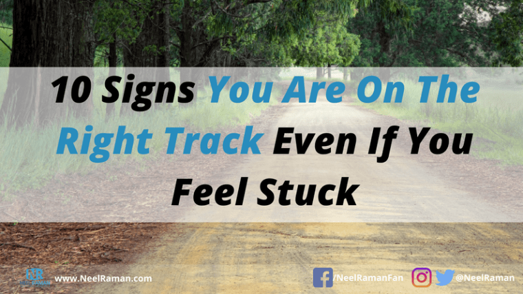 How to get back on track after a setback