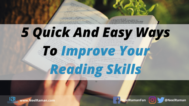 Ways to read faster