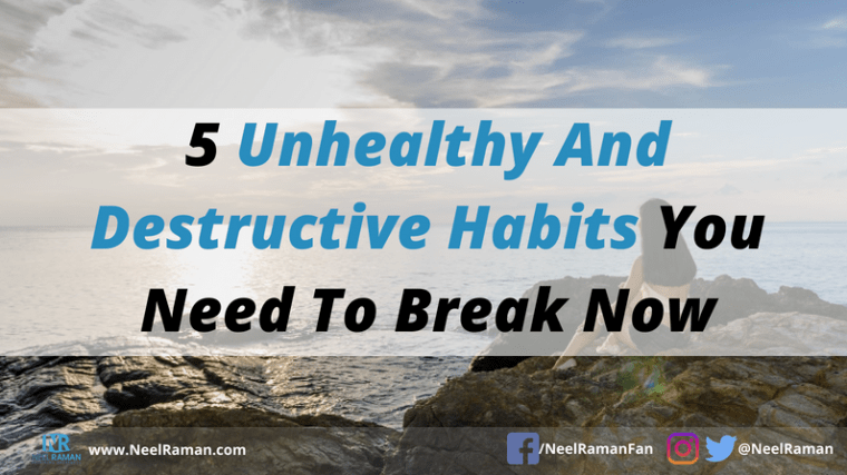 How to develop better habits