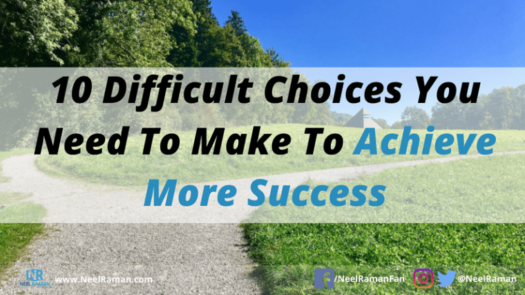 How to achieve more success
