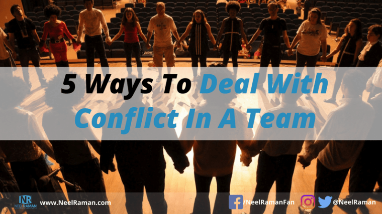 how to manage conflict in a team