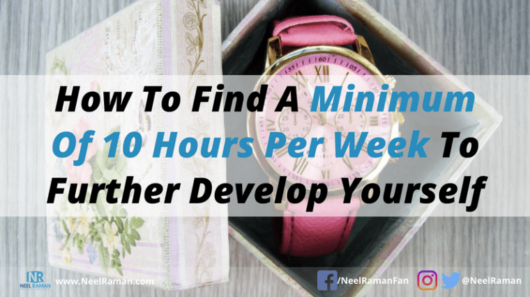ways to find more time every week