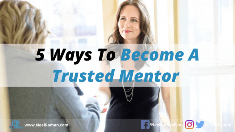 ways to be a mentor