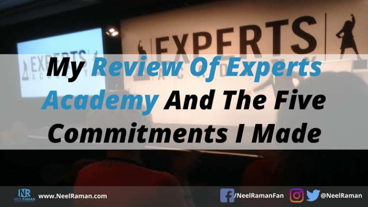 Brendon Burchard's experts academy event review