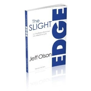 jeff olson the slight edge book review