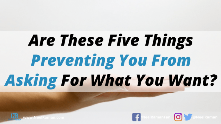 what prevents people from asking for what they want